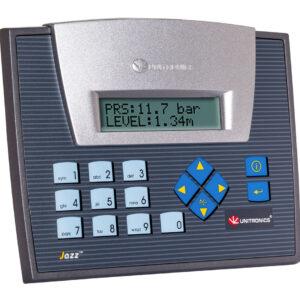 JZ20-UA24 Jazz HMI & Keypad, 9 Digital Inputs including one HSC, 2 Analog/Digital inputs, 2 Analog Inputs, 2 PT100/TC