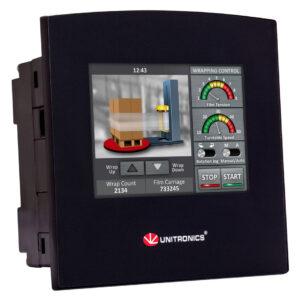 SM35-J-T20 Samba 3.5″ Touch Screen PLC & HMI, 12 Digital Inputs, including 3 HSC/Shaft-encoder Inputs, 2 Analog Inputs , 8 Transistor Outputs