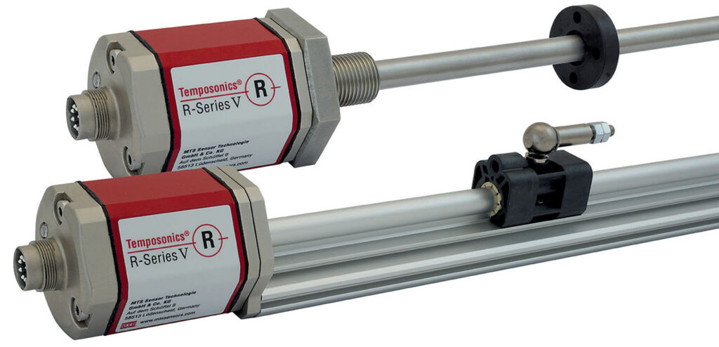 R-Series V SENSORS WITH ANALOG OUPUT NOW AVAILABLE WITH MTS