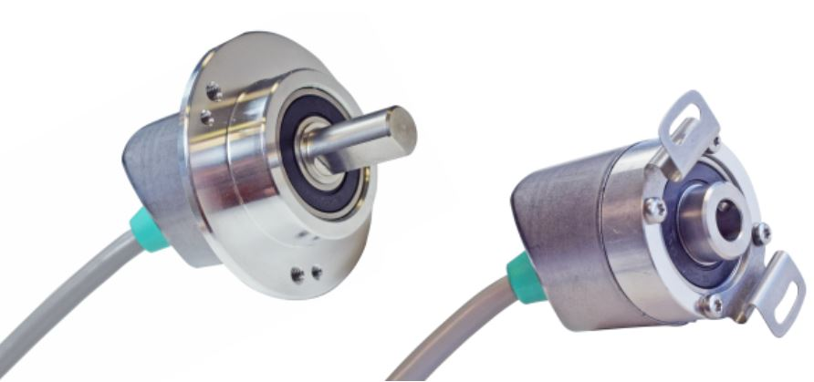 INCREMENTAL ENCODER NOW WITH ANGLED CABLE EXIT